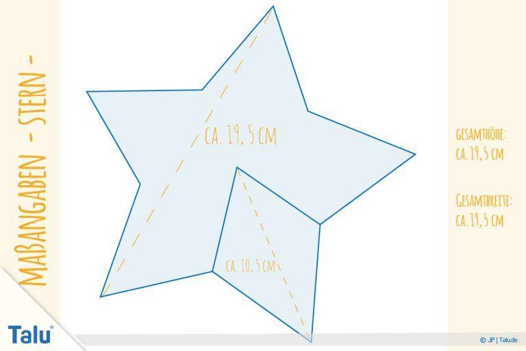 Stern Nahen Kostenlose Anleitung Mit Vorlage Fur Sternanhanger Talu De Sterne Nahen Schnittmuster Zum Nahen Auf Papier Stern Schablone