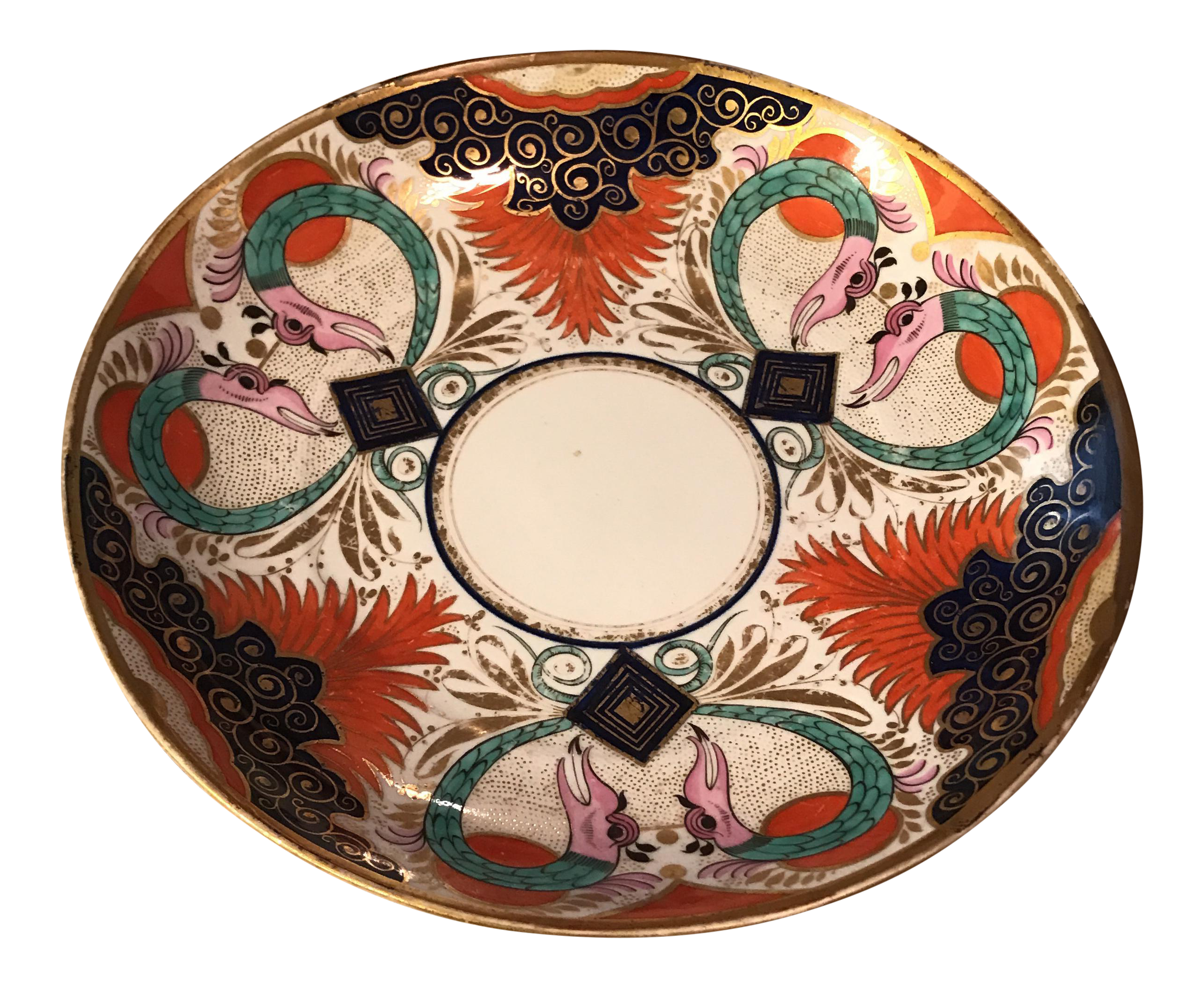 sc 1 st  Pinterest & Gilded Asian Decorative Plate