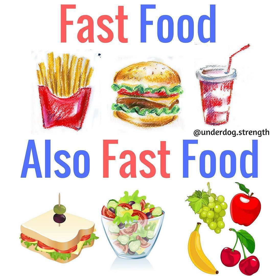 Since today is #NationalFastFoodDay I wanted to share this. Fast ...