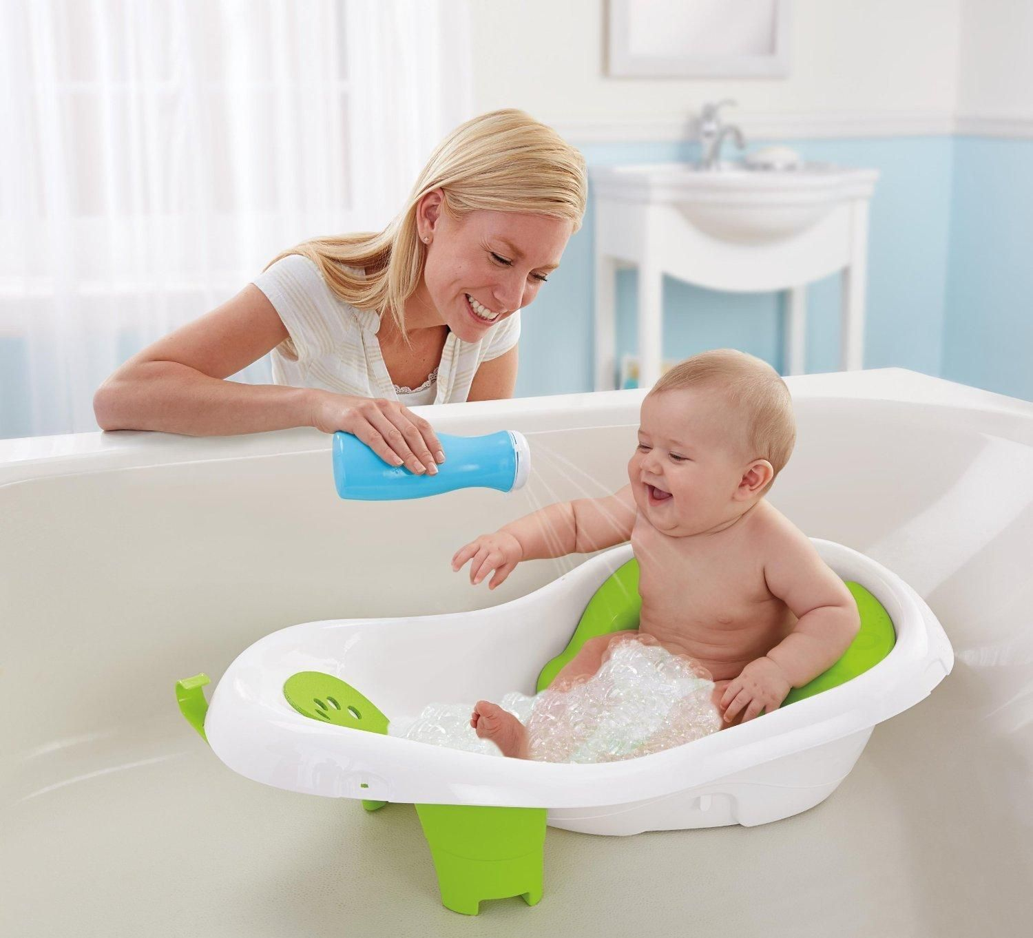 Amazon.com : Fisher-Price 4-in-1 Sling N Seat Tub : Baby Bathing ...