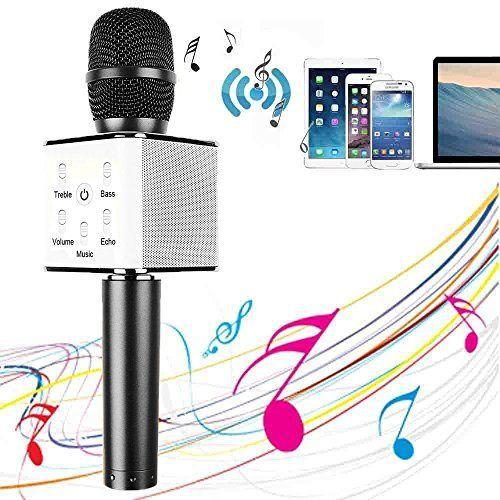 Offerta di oggi - YOCILO Bluetooth Speaker Karaoke Player Oro Microfono wireless per Karaoke Player Karaoke Compatibile per il telefono cellulare iPhone e Android o PC con USB (Black) a Eur. 22.87 invece di Eur. 89.00 #karaokeplayer Offerta di oggi - YOCILO Bluetooth Speaker Karaoke Player Oro Microfono wireless per Karaoke Player Karaoke Compatibile per il telefono cellulare iPhone e Android o PC con USB (Black) a Eur. 22.87 invece di Eur. 89.00 #karaokeplayer