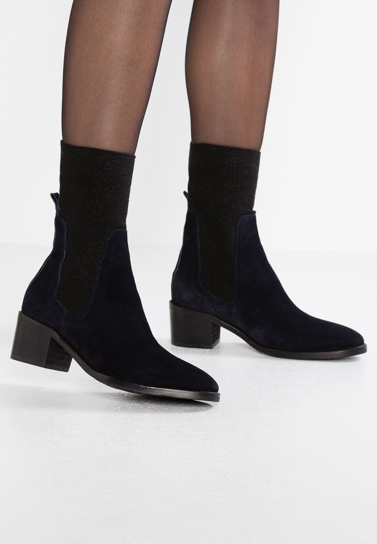 82f5dbe7 Tommy Hilfiger SOCK BOOTIE - Classic ankle boots - blue - Zalando.co.uk