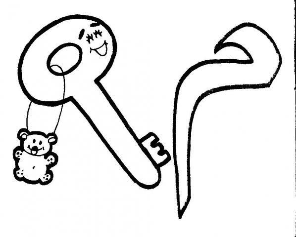 أنشطة الحروف العربية للتلوين 0