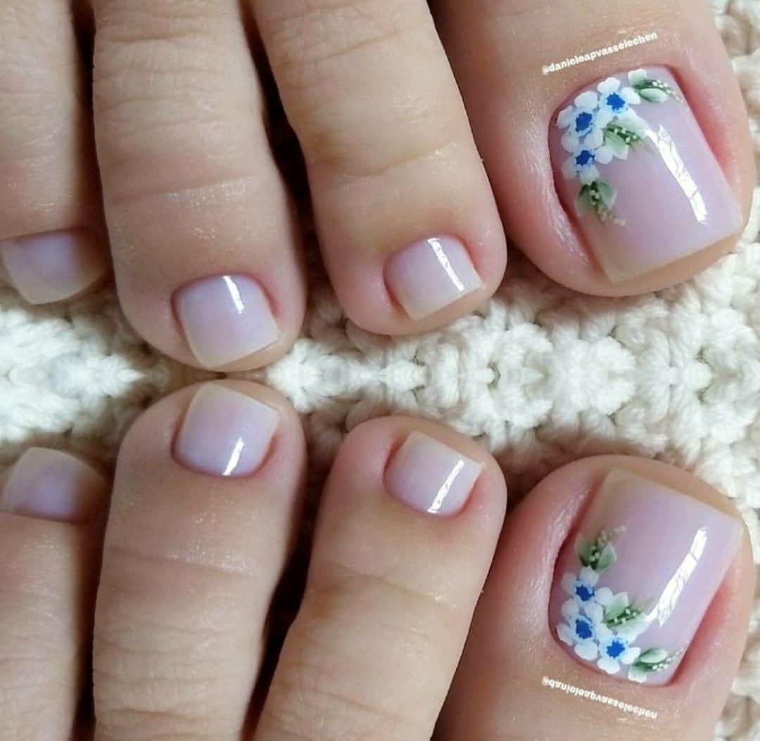 Decoración de uñas para pies ¡+30 Diseños para lucir pies increíbles!