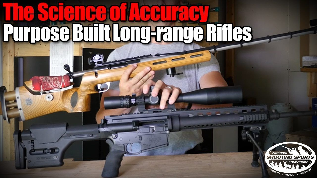purpose built rifles for long range shooting shooting targets