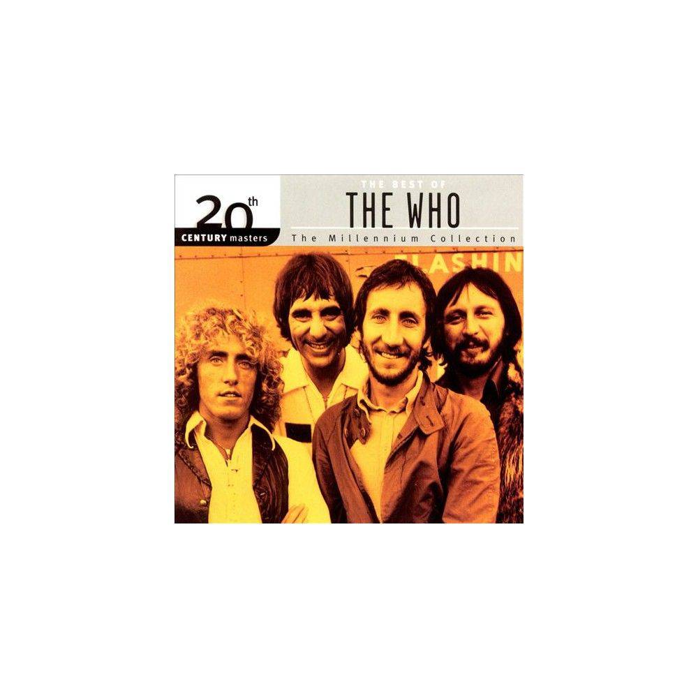 The Who - 20th Century Masters - The Millennium Collection: The Best of The Who (CD), None - Dnu