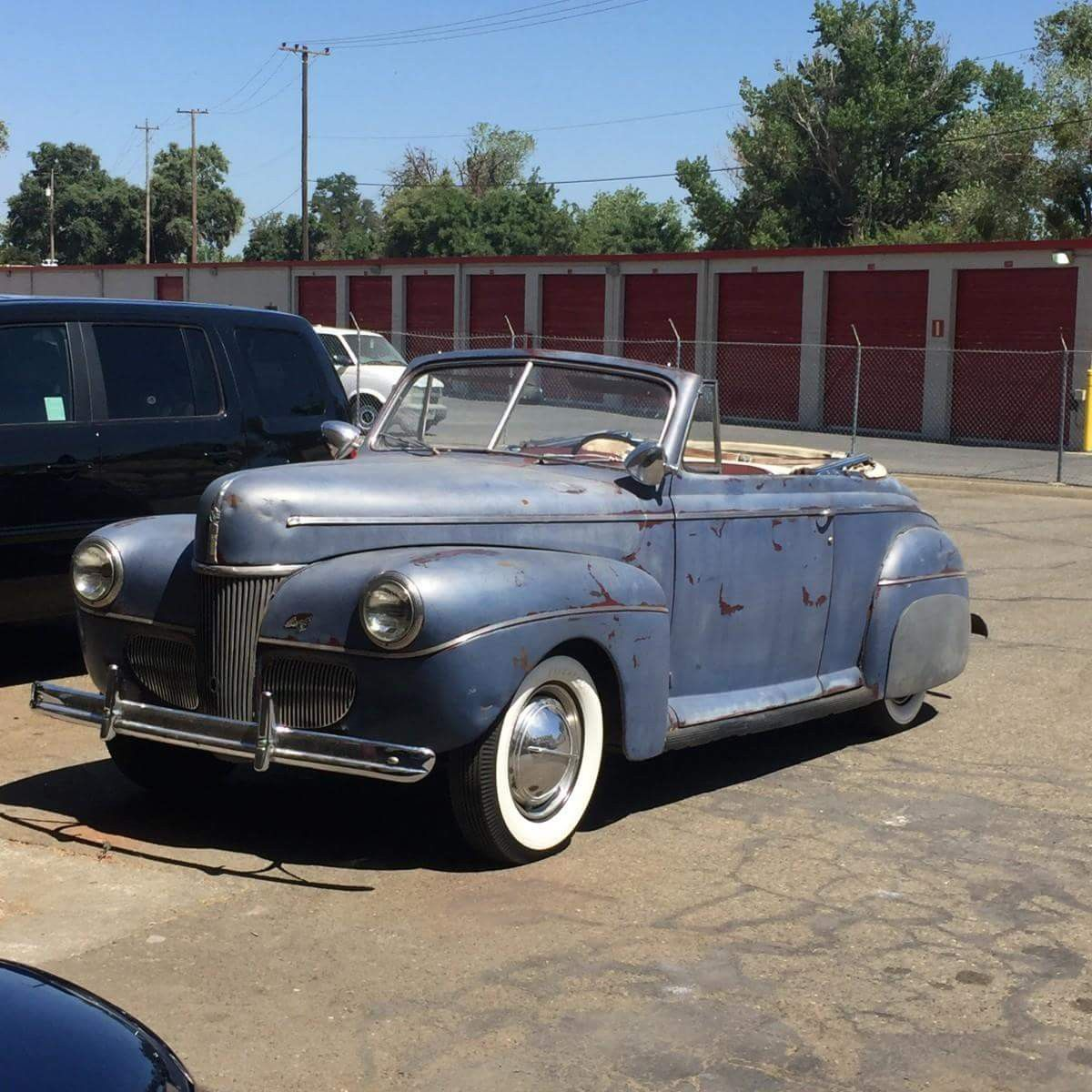 DROP TOP FRIDAY: 1941 Ford Convertible