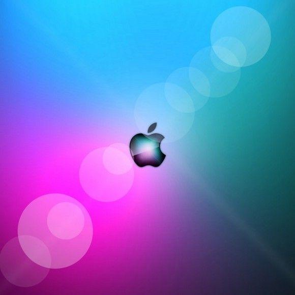 gradientapple.jpg (580×580) Apple ipad wallpaper, Ipad
