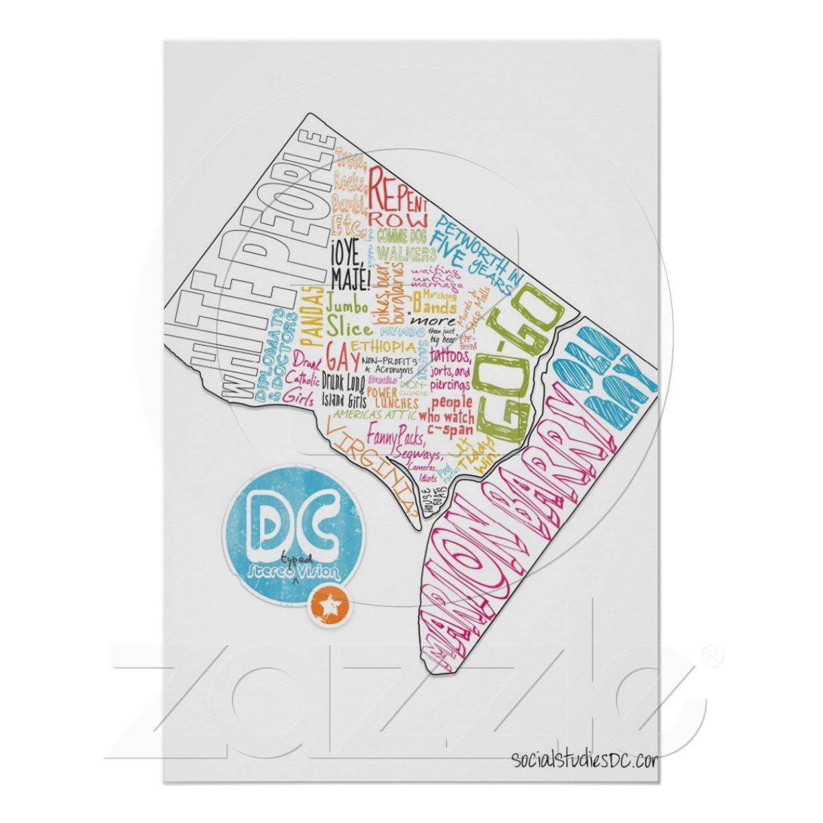 I Really Do Want This Map Gifts Map Map Poster
