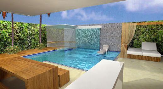 sauna piscina - Pesquisa Google