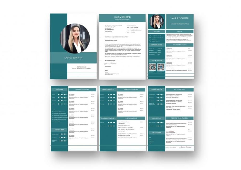 Muster Vorlagen Kostenlos Herunterladen Bewerbung 3