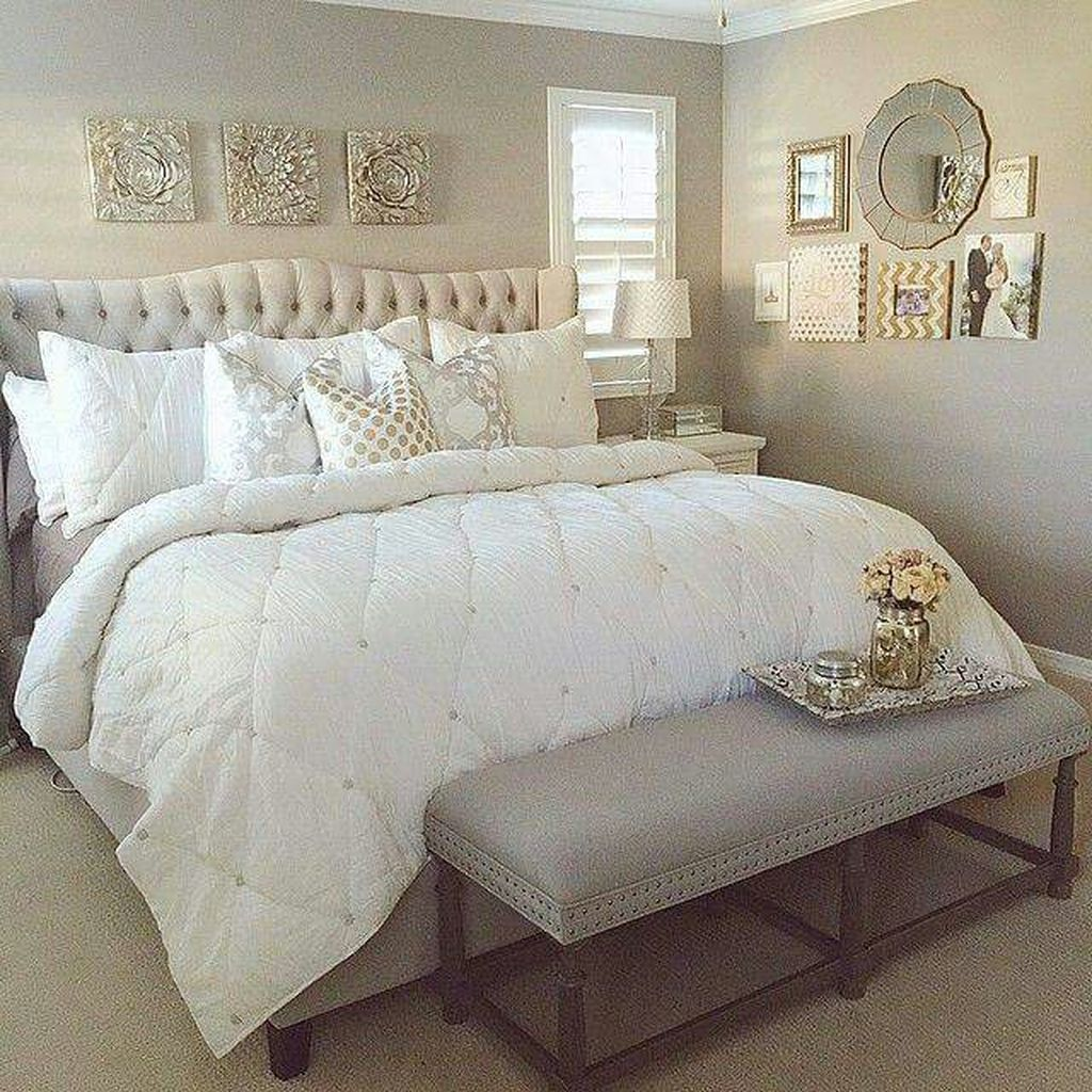 40 Stylish Bedroom Decoration Ideas with White Furniture