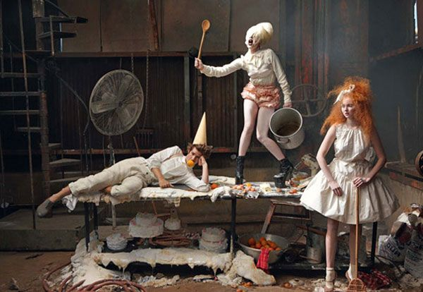 Lady Gaga Joins Lily Cole and Andrew Garfield In A Recreation of Hansel and Gretel
