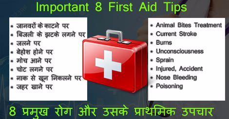 First aid kit contents list and their uses pdf in hindi | Make a