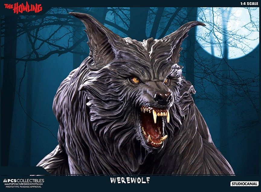 THE HOWLING 1:4 Statue - PCS Exclusive
