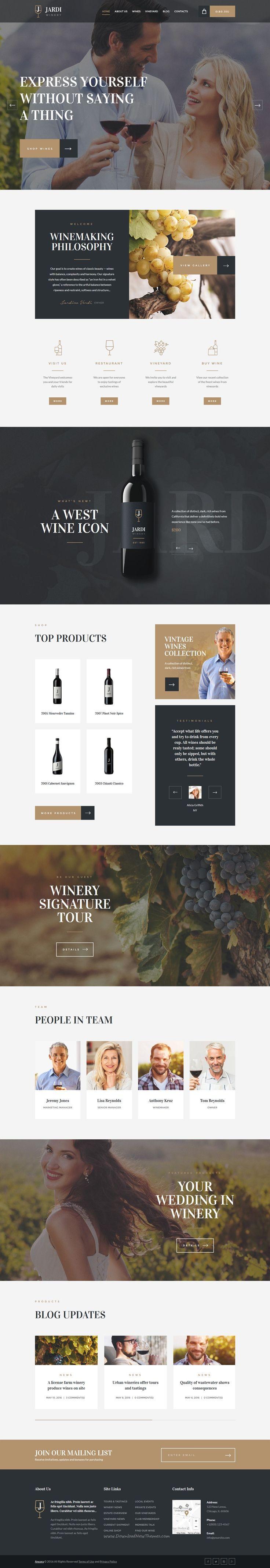 Jardi has modern and functional design premium #WordPress #theme perfectly suitable for #Vineyard, Winery & Wine Producer website download now➝ https://themeforest.net/item/jardi-winery-vineyard-wine-shop-wordpress-theme/16390279?ref=Datasata