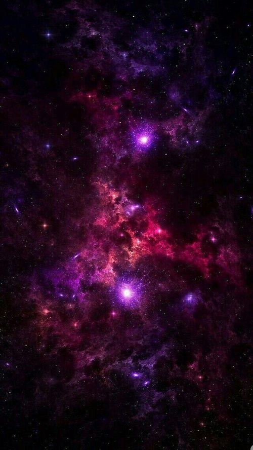 Immagine Di Galaxy Wallpaper And Purple Iphone X Wallpaper