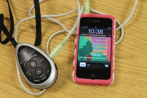 how to connect iphone to promethean board