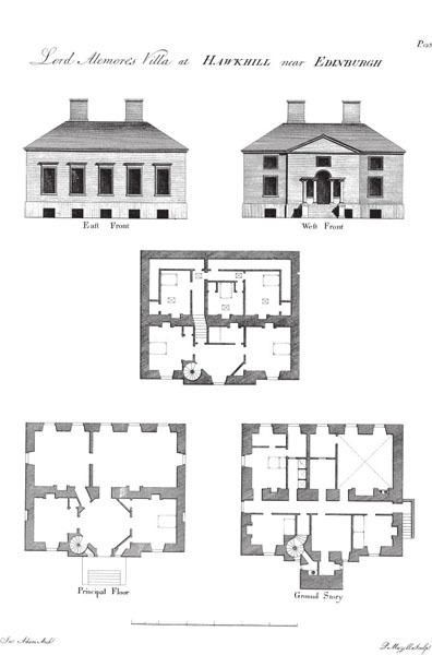 181 Vitruvius Scoticus: Plans, Elevations, And Sections Of Public  Buildings, Noblemenu0027s And Gentlemenu0027s Houses In Scotland