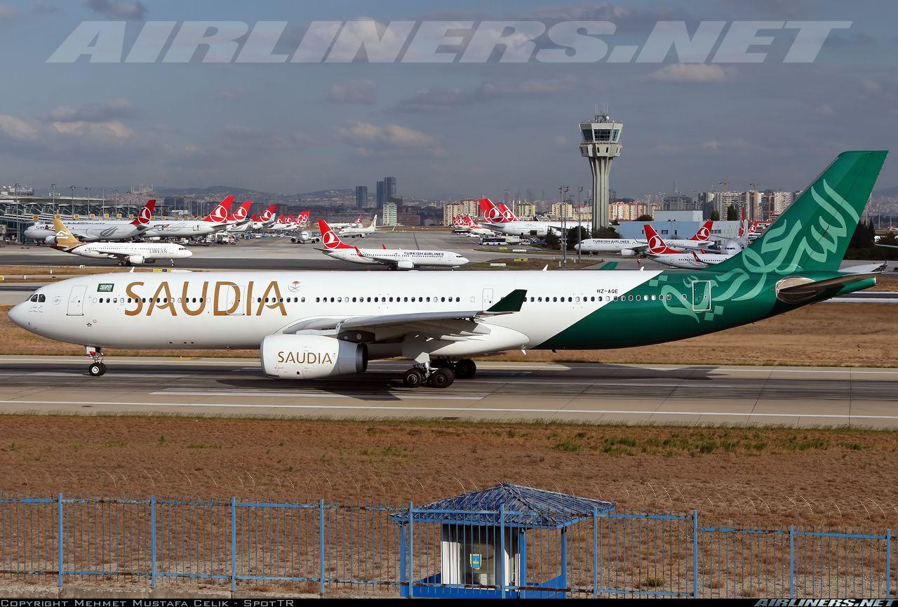Saudi Arabian Airlines, Flight 163, Lockheed L-1011, HZ-AHK