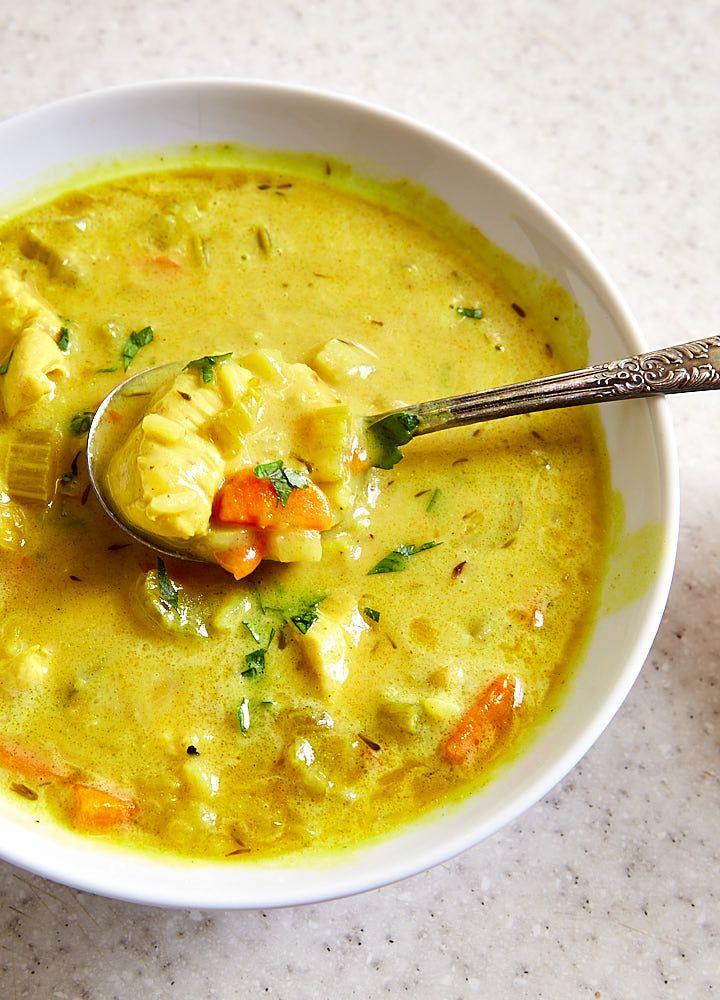 Best Mulligatawny Soup #mulligatawnysoup
