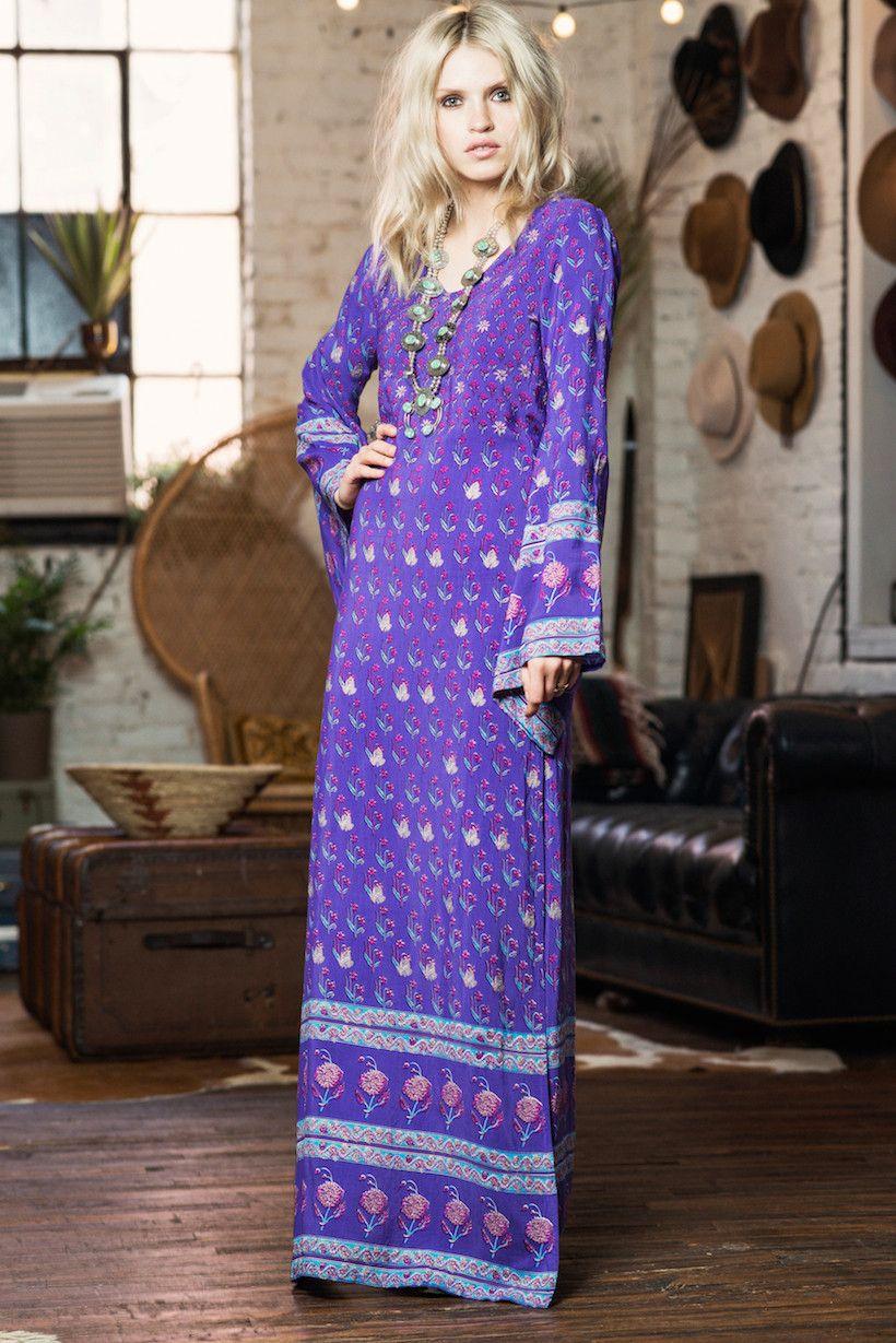 Bohemian Royale Empress Dress - Deep Purple | fashion | Pinterest ...