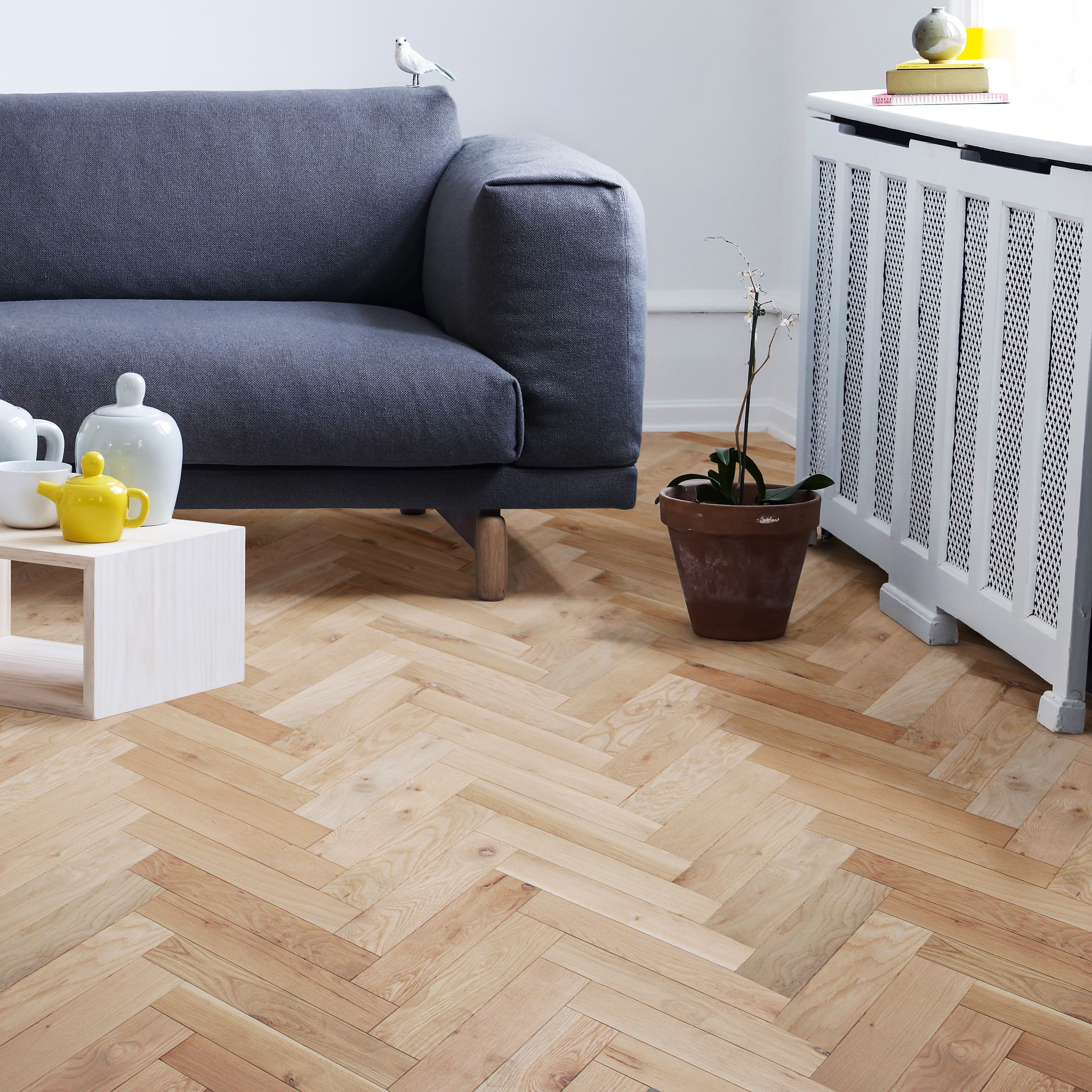 Update Your Living Room With Solid Oak Flooring For A Brighter Space