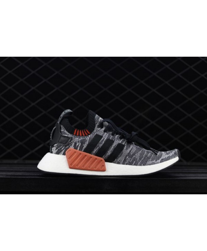 Adidas Nmd R2 Core Black Running White Shoes Sale | adidas