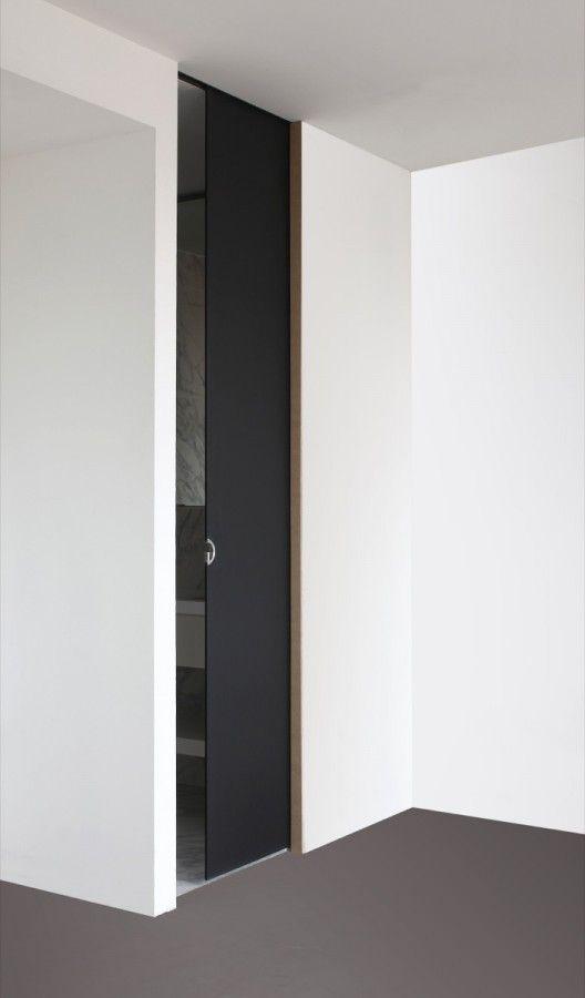 Black pocket door - Deuren - D'Hondt