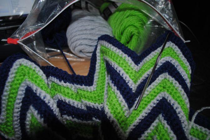 Seahawks Afghan Crochet Crochet Patterns Knit Crochet