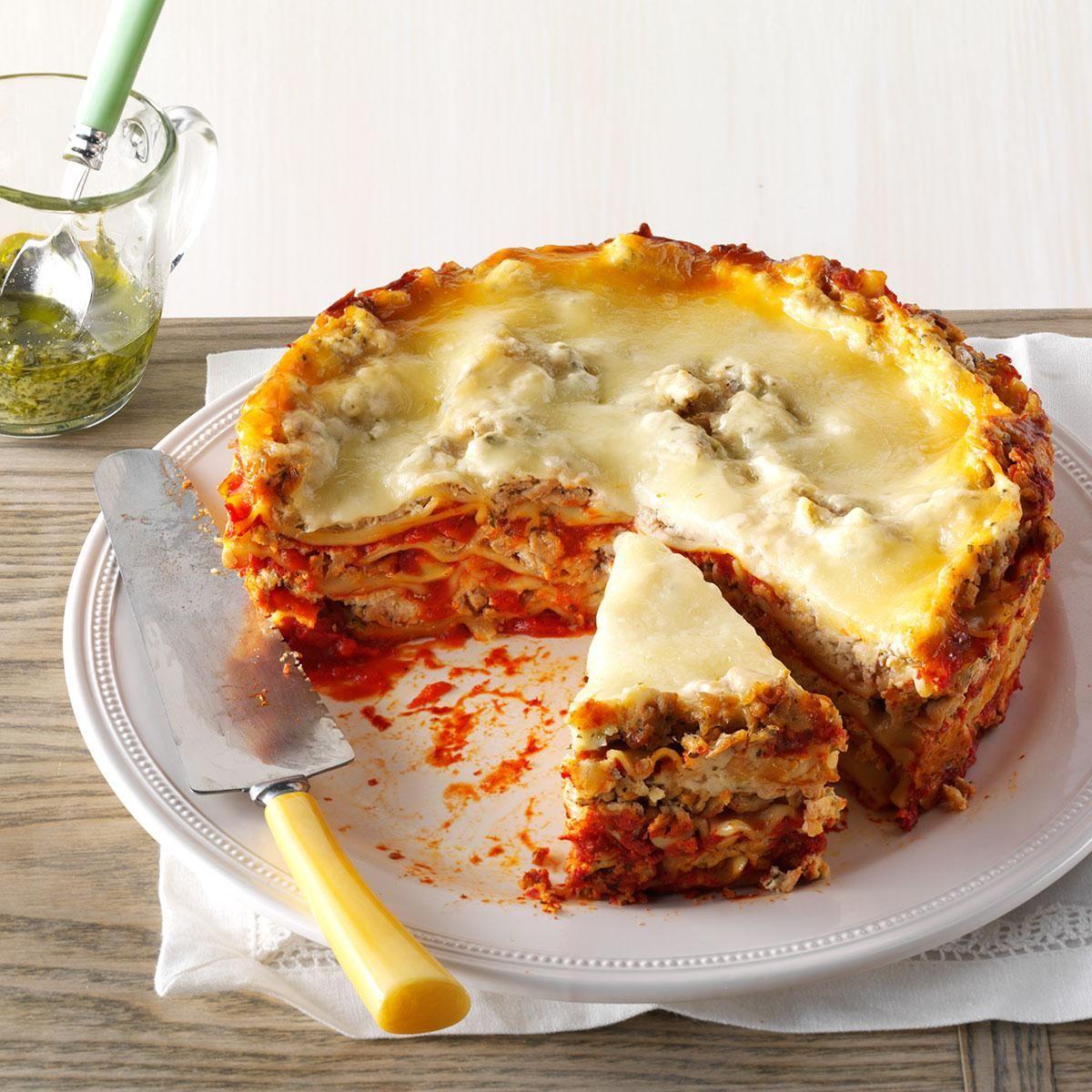 slow cooker turkey pesto lasagna recipe pesto lasagna recipes slow cooker recipes pinterest