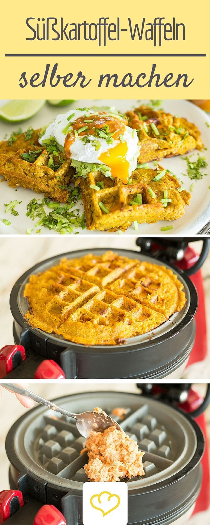 potato waffles with avocado cream and poached egg Sweet potato waffles with avocado cream and poached egg,Sweet potato waffles with avocado cream and poached egg,