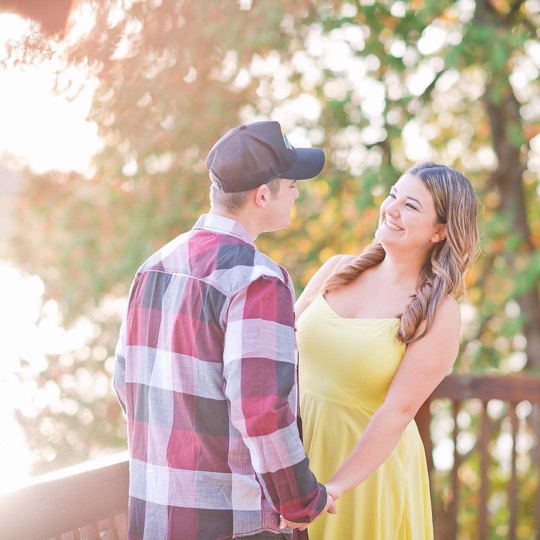 And this is why you do sunset people!! Lisa  Kyle's cottage engagement session was absolutely magical this morning! Was beautiful to work with these two since I've known them from very early on in high school! These cuties say 'I do' in August! #naweddings #nacouples #nabrides | https://instagram.com/p/8qmDNcqunv/