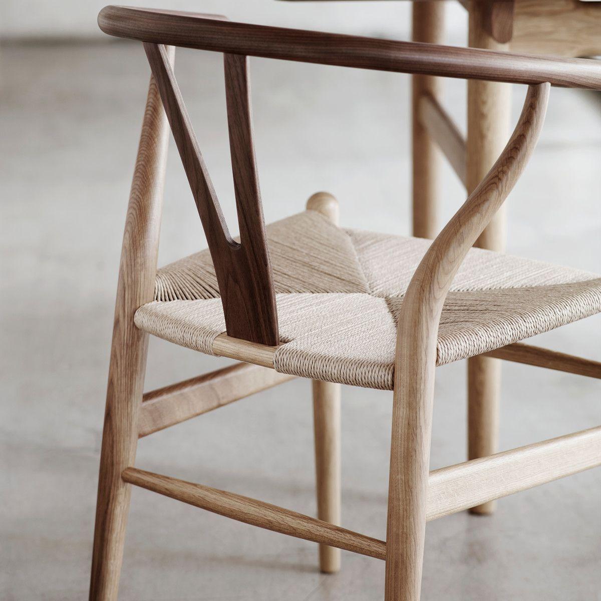 Carl Hansen Ch24 Wishbone Chair Eiche Geseift