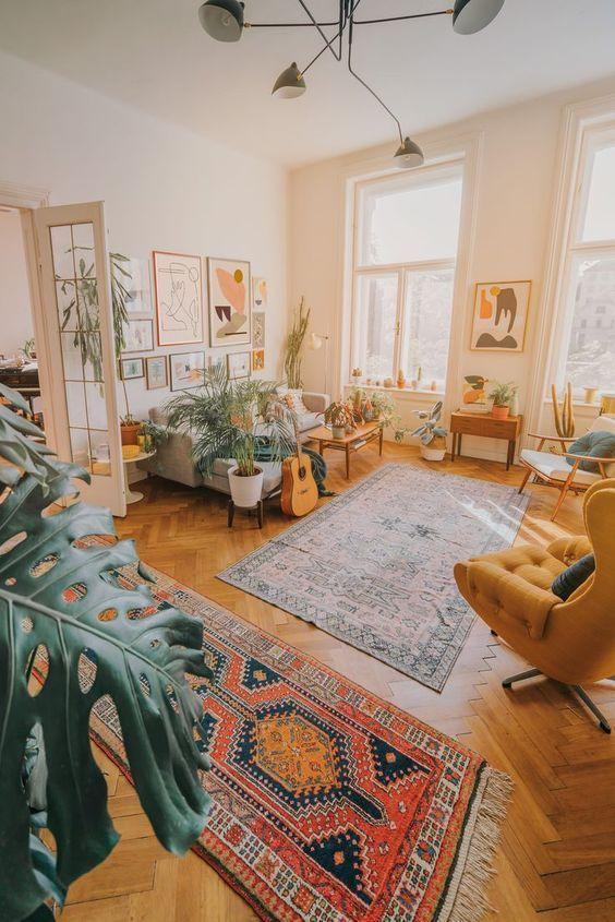 indian living room, oriental living room, boho living room, living room decor ideas, interior decor trends #livingroom