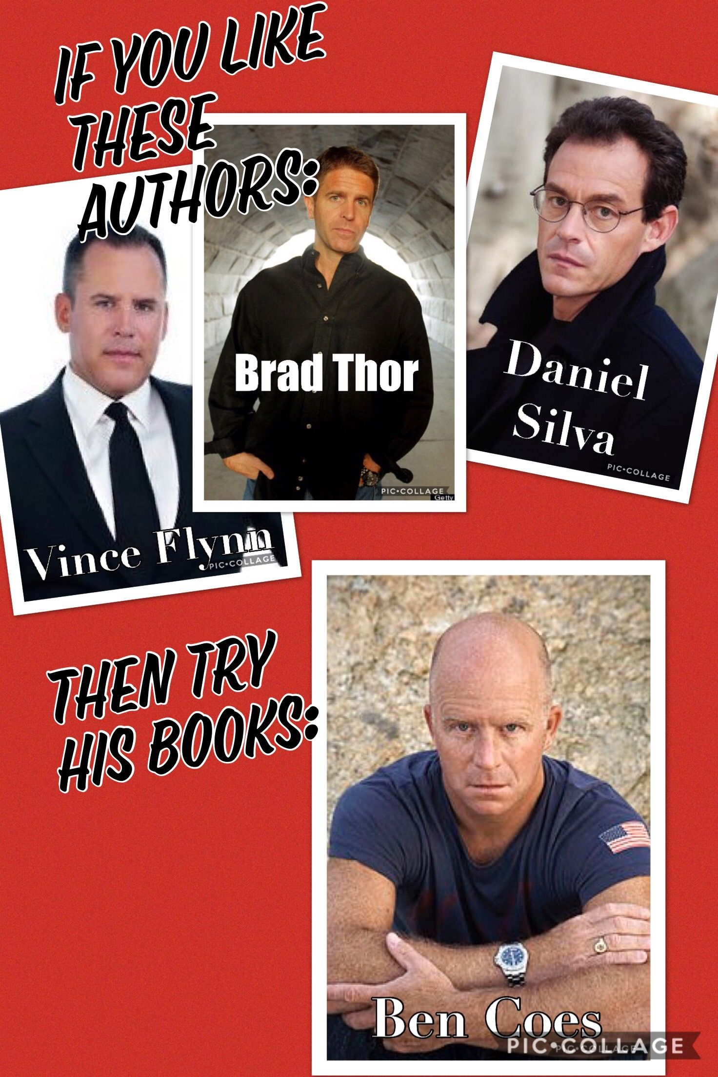 If you like any of Vince Flynn's, Brad Thor's or Daniel