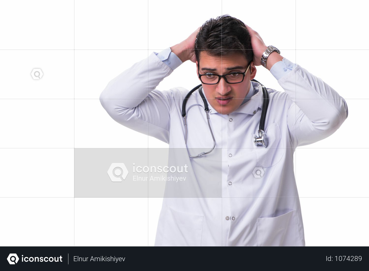 Premium The Young Male Doctor Isolated On White Background Photo Download In Png Jpg Format Male Doctor White Background Photo White Background