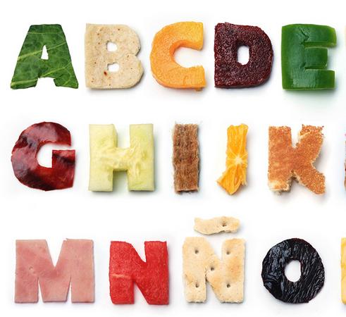 alimentos en diferentes idiomas