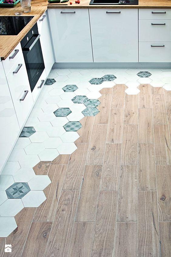 Новыйl Плитка для кухни на пол: 150+ Фото секретов ...