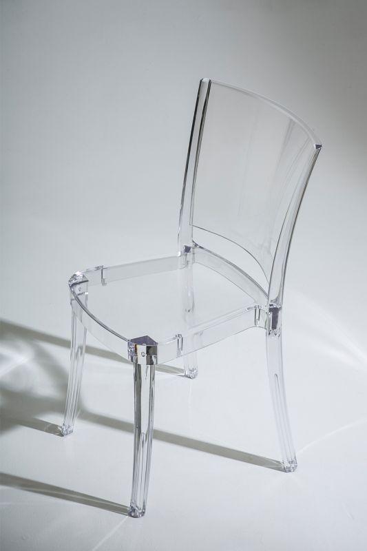 Chaise Transparente Polycarbonate Lucienne Neutre Mesas De Comedor Sillas Y Muebles