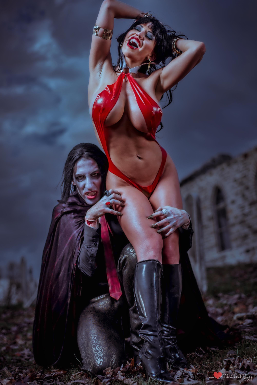 An Erotic Tale of Ms. Dracula (2014) Nude Scenes