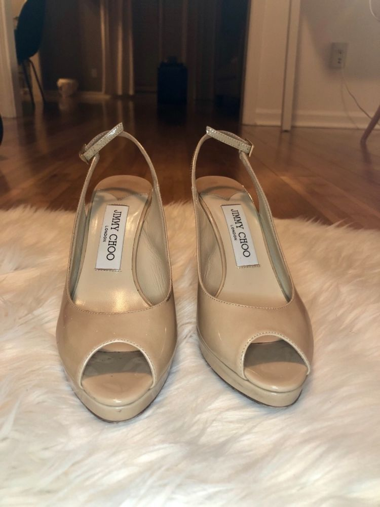 a1721386ef9 Jimmy Choo Shoes Nude Color Size 5.5 great condition. Barely worn.  fashion   clothing  shoes  accessories  womensshoes  heels (ebay link)