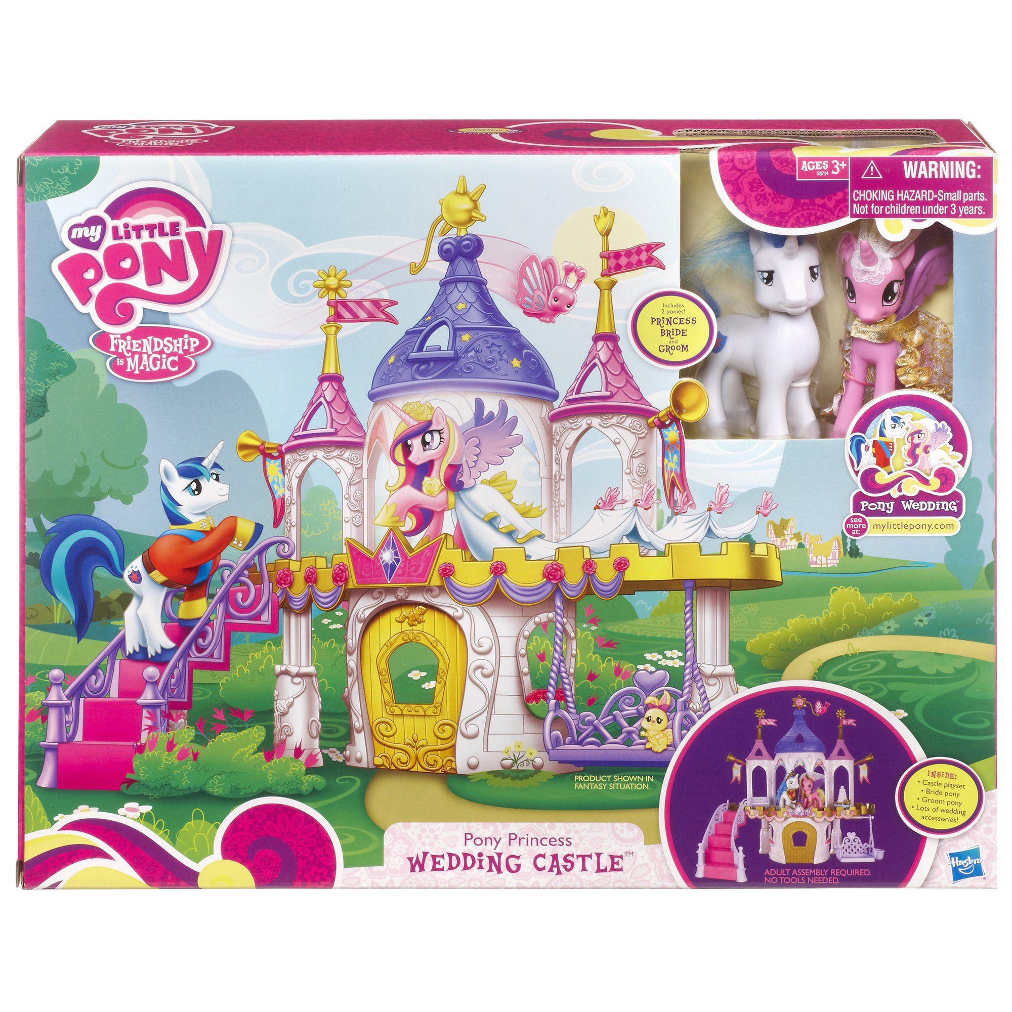 My Little Pony Pony Princess Wedding Castle Playset Walmart Com In 2020 My Little Pony Princess My Little Pony Set Princess Wedding