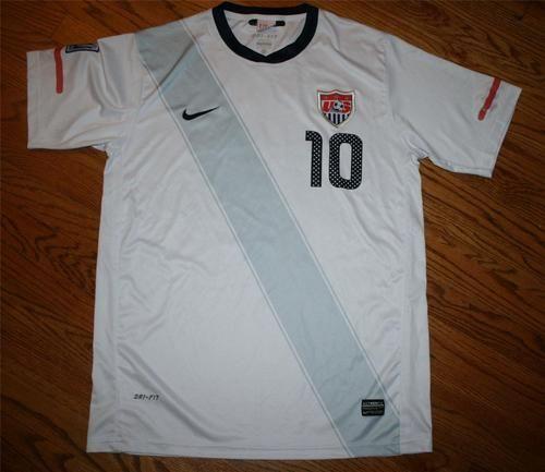 53da26c02 NIKE DRI-FIT TEAM USA SOCCER Landon DONOVAN Jersey Shirt-Mens XL-2010 . ...