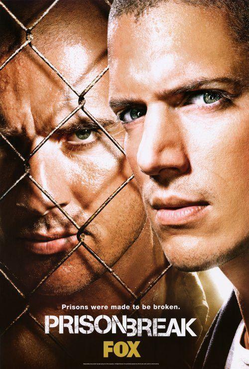 Prison Break 27x40 Tv Poster 2005 With Images Prison Break
