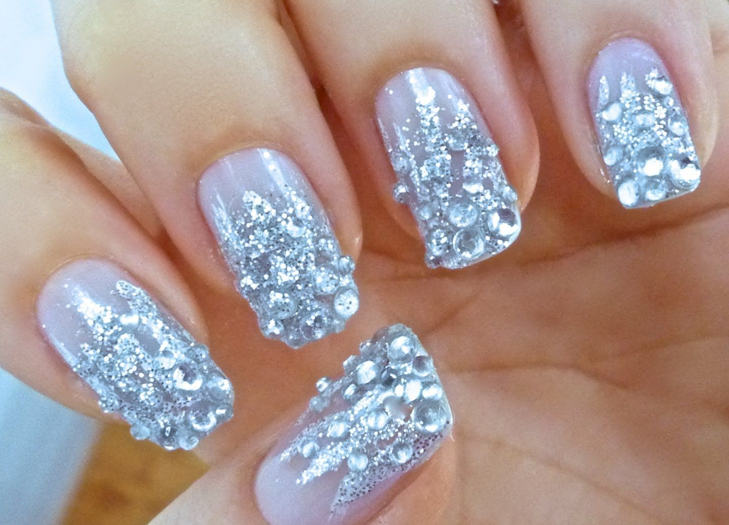 Diamante nails - love them or is it too much? | Nails, nails, nails ...