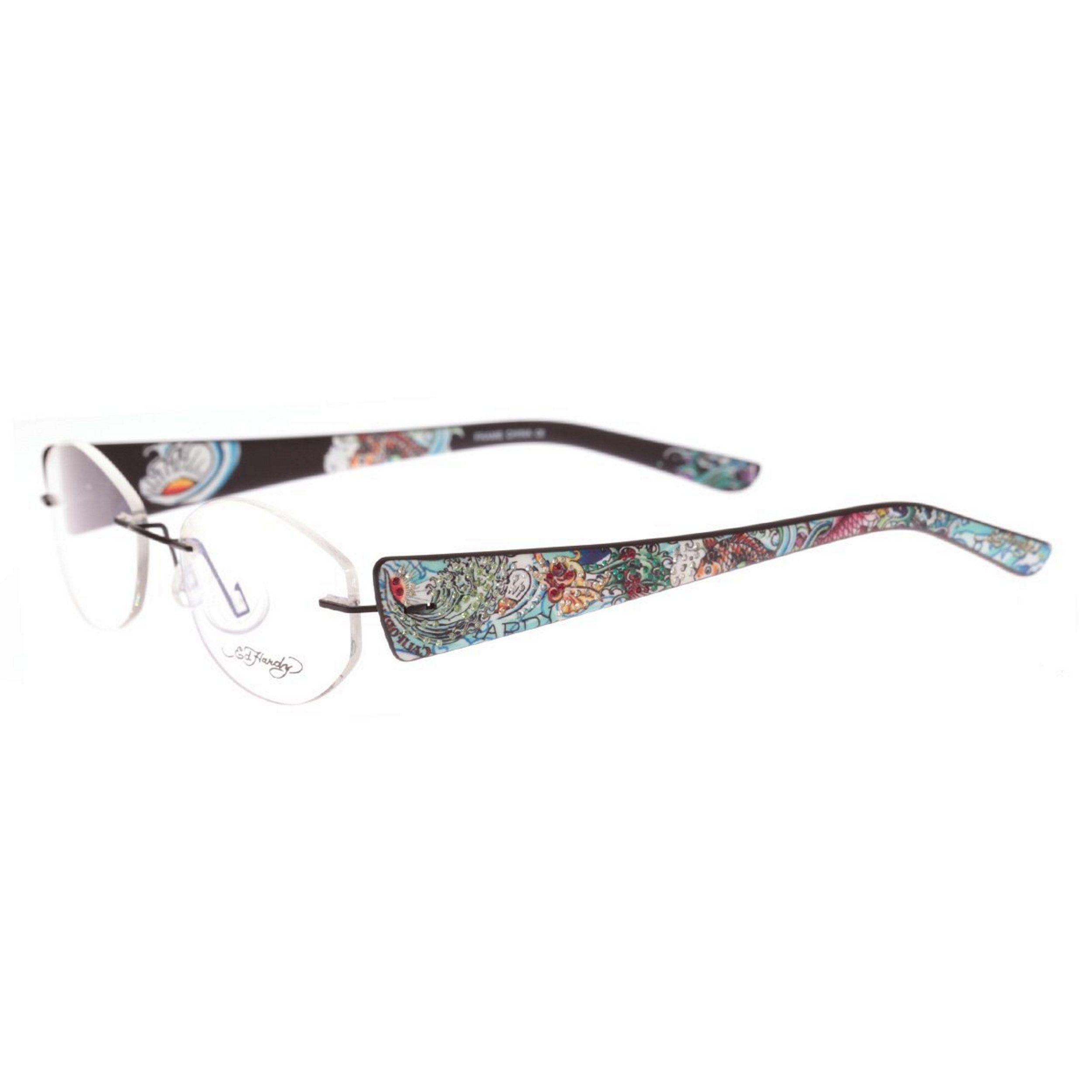 Ed Hardy EHL-818 Lite Designer Eyeglasses | Ed hardy | Pinterest ...