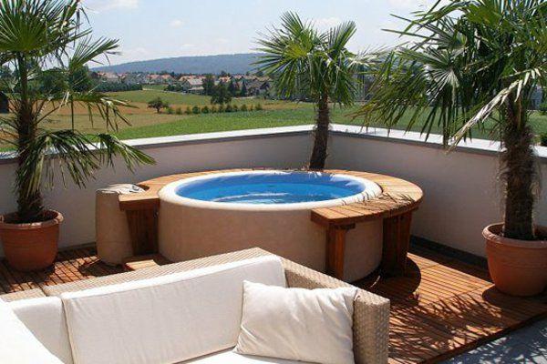 Le piscine hors sol en bois - 50 modèles - Archzinefr Tech - amenagement autour piscine hors sol