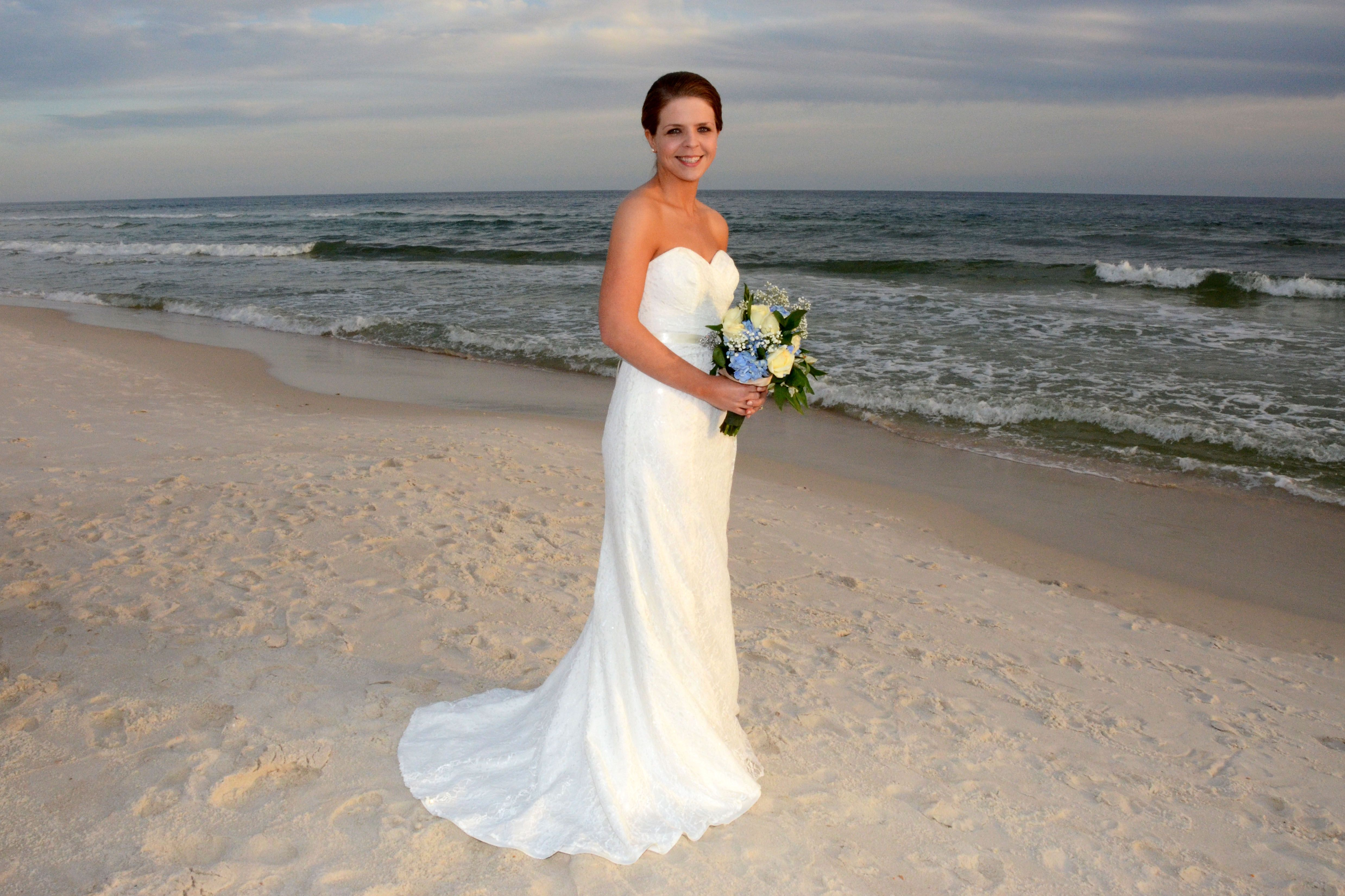 Destination beach wedding on Panama City Beach Florida