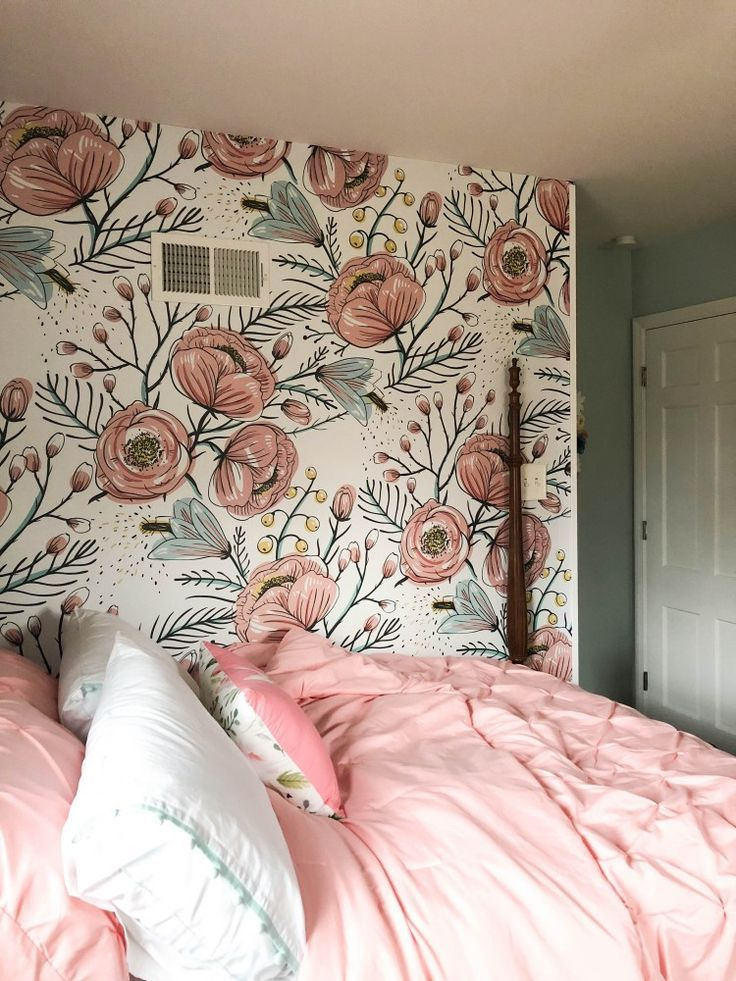 Quinn's Room Reveal: A Blue & Floral Bedroom for Girls images